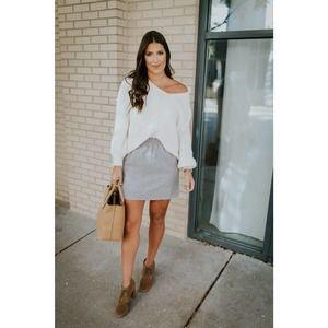 J.Crew Gray Wool Sidewalk Skirt Size 10